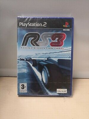 Sony PlayStation 2 Game New & Sealed RS3 Racing Simulation Three PAL D34 • 5£