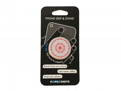 AU5.42 • Buy PopSockets Aztec Mandala Red Phone Grip And Stand