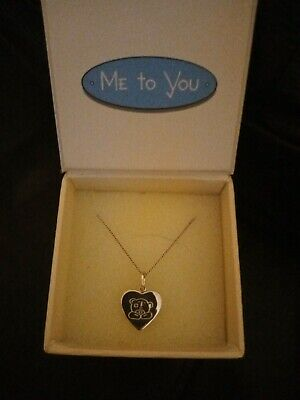 Me To You Sterling Silver Jewellery - Necklace With Presentation Box - Unused • 10£