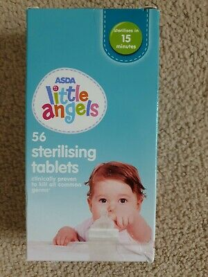 50 Mini Sterilising Tablets - White • 1.99£
