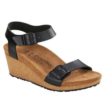Papillio By Birkenstock Soley Leather Wedge Sandal 685189-J • 86.83£