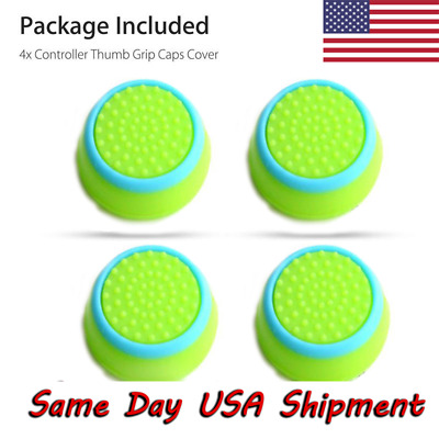 AU2.54 • Buy 4X Controller Accessories Thumb Stick Grip Joystick Cap For PS3 PS4 XBOX ONE