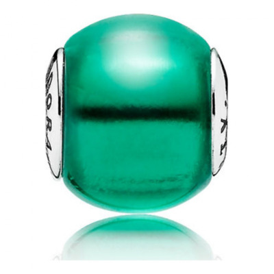 Genuine PANDORA Silver Essence Green Cubic Zirconia CREATIVITY Charm-796071NSG • 20.59£