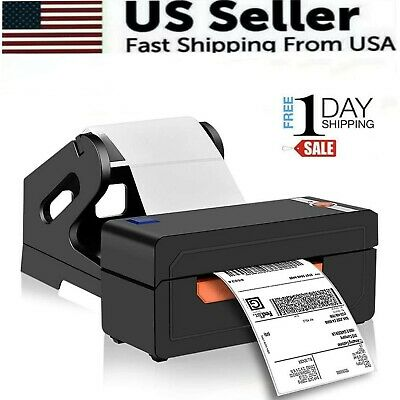 View Details  Shipping Label Printer 4x6 Thermal  Label Marker Writer Machine  With Holder • 79.98$