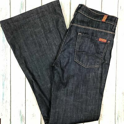 AU65 • Buy 7 For All Mankind 'Ginger' Stretch Flare Jeans Size- 29