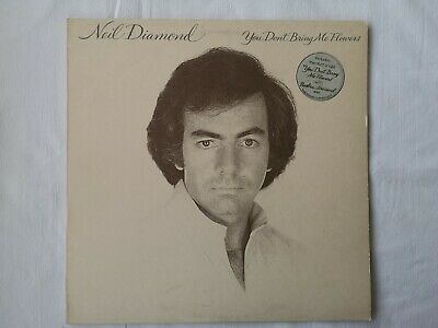 Neil Diamond - You Don't Bring Me Flowers - Vinyl LP - CBS 86077 • 3.50£