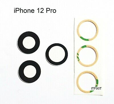 £4.90 • Buy IPhone 12 Pro  Rear Camera Glass Lens Replacement