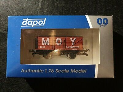 MOY Coal Merchant Colchester 00 Gauge Railway Wagon 1/76 Scale Dapol 55/192 • 10£