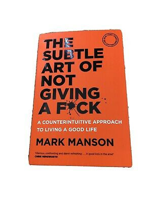 AU29.99 • Buy THE SUBTLE ART OF NOT GIVING A F*CK By Mark Manson Book