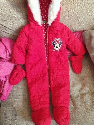 Minnie Mouse Girls Snowsuit, Brand New!!! • 2.99£