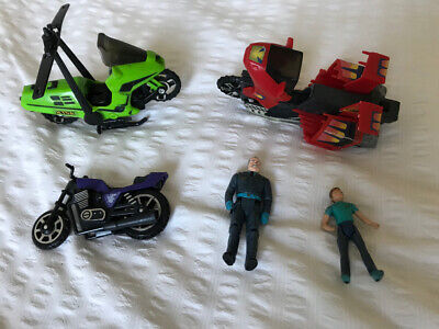 Vintage M.A.S.K. Collection - Condor Motorbike Helicopter, Vampire Motorbike Etc • 25£