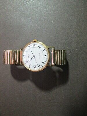 Gold Plated Oris Star Watch. Spares And Repairs Expandable Strap • 10£
