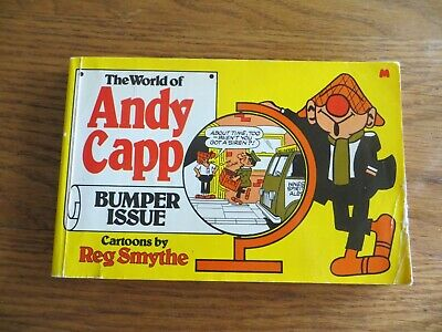 Vintage The World Of Andy Capp Cartoons By Reg Smythe Bumper Book 1980 • 3.99£