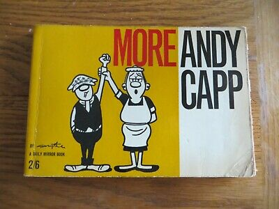 Vintage More Andy Capp Cartoons By Reg Smythe Bumper Book 1962 • 4.99£