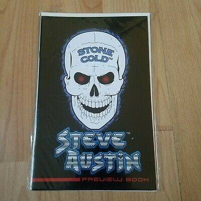 Stone Cold Steve Austin Preview Book (1999) Dynamic Forces WWF WWE • 7.99£