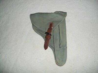 Reproduction P08 Luger DAK Cotton Canvas Holster • 20£