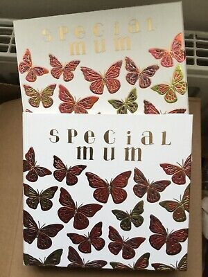 Special Mum Butterfly Detail Photo Album With Matching Gift Box • 2.99£