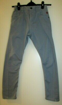 Boys Cotton Chino Twisted Leg Trousers Age 8 Years By Next Good Condition • 2.99£