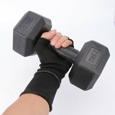AU38.99 • Buy Pair 2.5/5KG Rubber Hex Dumbbell Fitness Home Gym Strength Weight Training