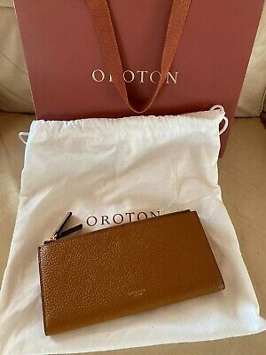 AU85 • Buy Oroton Leather Wallet In Brown