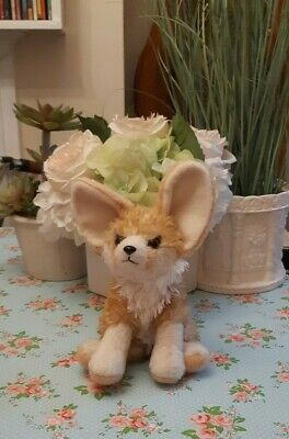 Plush Wild Republic Cuddlekins 8  Fennec Fox Cuddly Soft Toy Teddy  • 4.99£