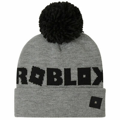 £9.29 • Buy Roblox Bobble Hat, Beanie Hat For Kids, Grey Boys Hat, Gamer Gifts For Boys
