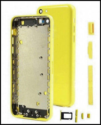 £3.49 • Buy IPhone 5C Yellow Back Rear Housing Battery Cover Replacement | UK Best