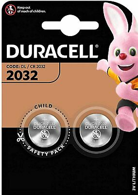£2.94 • Buy Car Key Alarm Battery 2 DURACELL CR2032 Fits Selected Audi BMW Ford Remote Fobs