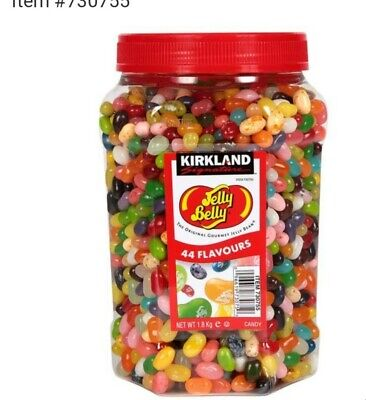£27.99 • Buy Kirkland Signature Jelly Belly Original Gourmet Jelly Beans 44 Flavour Candy 1.8