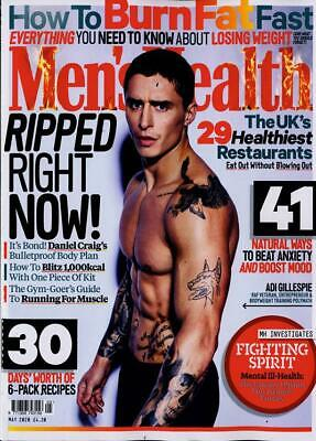 Men's Health Magazine May 2020 ~ New ~ • 3.33£