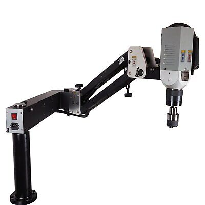 £3232.68 • Buy Electric Thread Tapping Machine Pantographic Arm With Quick Change Collet Chuck