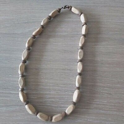 Mens Wood Bead  Surfer Necklace  • 0.99£