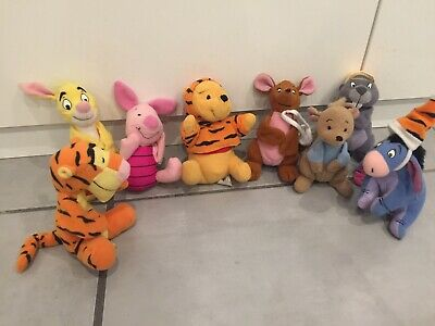 QTY 8  Mcdonalds 2000 Happy Meal Toys Winnie The Pooh The Tigger Movie  • 14.99£