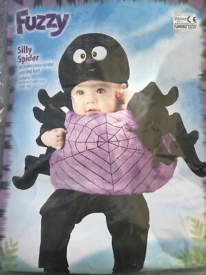 Silly Spider Costume Up To 24 Months Old • 1.50£