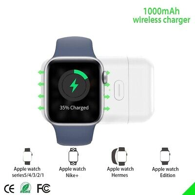 $ CDN29.17 • Buy USB Wireless Charger For Apple Watch IWatch Series 6/5/4/3/2/1 Magnetic Portable