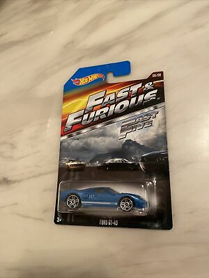 Hot Wheels Fast And Furious Ford GT- 40 Rare  • 5£