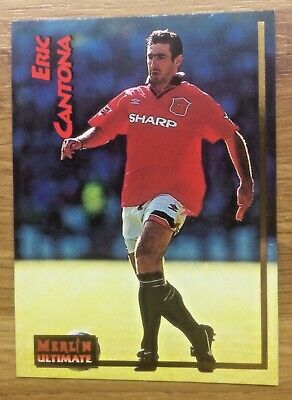 Eric Cantona - Merlin Ultimate Card - Manchester United • 2£