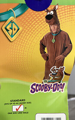 £35.66 • Buy Scooby Doo Costume Adult Halloween Fancy Dress Med Fits Up To 42 Jacket Size