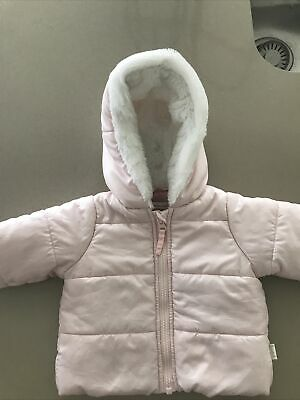 AU6 • Buy Pumpkin Patch Baby Girl Pink Puffer Jacket Size 0-3 Months ( Fits Up To 6 Month