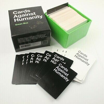 AU28 • Buy Cards Against Humanity Green Box Board Game Complete