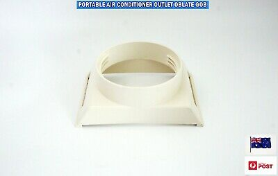 AU22.80 • Buy Portable Air Conditioner Spare Parts Outlet Oblate Gob Adaptor (13cm) (DA2A)