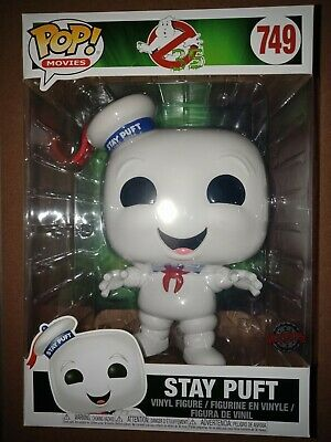 AU75 • Buy Ghostbusters - Stay Puft 10 Inch #749 - Funko Pop! Vinyl - Free Postage
