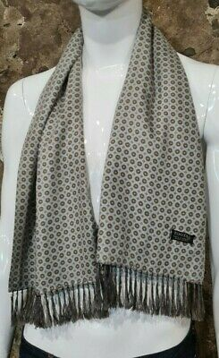 Vintage Mens Tootal Scarf Paisley Mod Scooter Ascot Goodwood Grey 60s 70s     28 • 34.99£