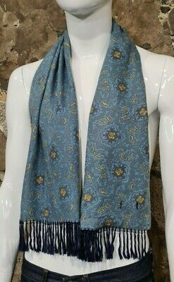Vintage Mens Tootal Scarf Paisley Mod Scooter Ascot Goodwood Blue 60s 70s   289  • 24.99£