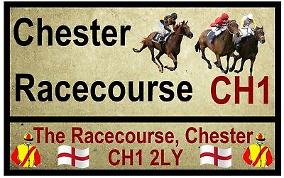 £2.15 • Buy Horse Racing Road Signs (chester) - Souvenir Novelty Fridge Magnet / New / Gifts