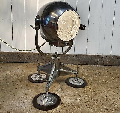 Vintage Strand Electric 23 Or 123 Theatre Stage Film Floor Light Lamp Tri Stand • 225£