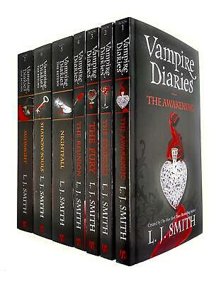 Vampire Diaries The Awakening & The Return 7 Books Collection Set By L. J. Smith • 23.99£