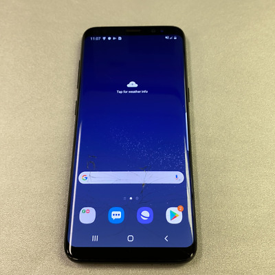 $ CDN3.19 • Buy Samsung Galaxy S8 - 64GB - Black (Unlocked) (Read Description) AE1008