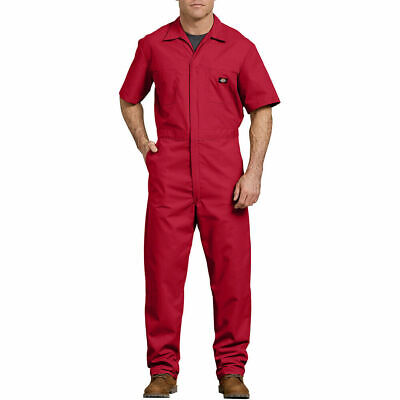 $17.95 • Buy NEW Dickies COVERALLS Mens Short Sleeve 3399RD RED Size: XL-TL 46/48