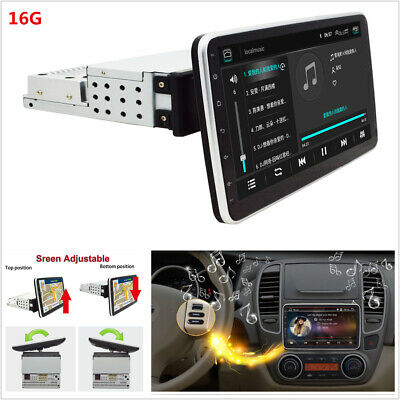 $ CDN222.06 • Buy Android 9.0 1DIN Quad Core 10.1in Car Bluetooth HD Multimedia Player GPS WIFI